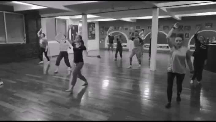 Danse contemporaine & Susanna - Go flex - Video